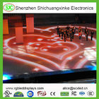 Portable Interactive 3D Video LED dance floor rental display for wedding party