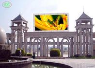 Gute Qualität RGB led-display & TAUCHEN Sie 1/4 Überprüfungsstadion farbenreiche LED-Anzeige im Freien ein, die 10mm Pixelneigung annonciert disponibles à la vente