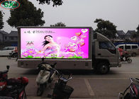 Full Color Led Mobile Digital Advertising Sign Trailer Outdoor P6 P8 P10 1/4 Scan
