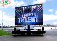 Mobile Trailer Led Display Screen P10 Rgb 3 In1 For Outdoor Rolling Advertising