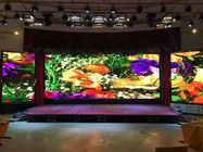 P4 Large Outdoor Led Display Screens Wall Sign IP65 Waterproof Cabinet 256*128
