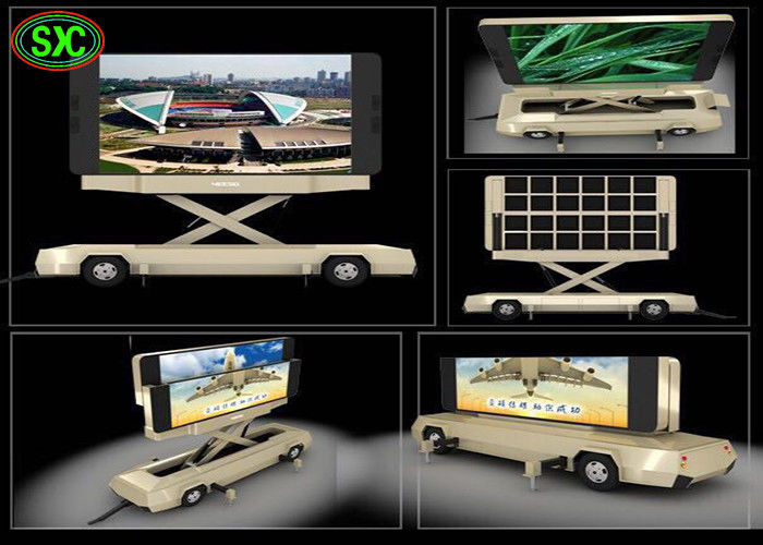 P6 Mobile Truck LED Display led mobile digital advertising sign trailer mobile led advertising vehicle