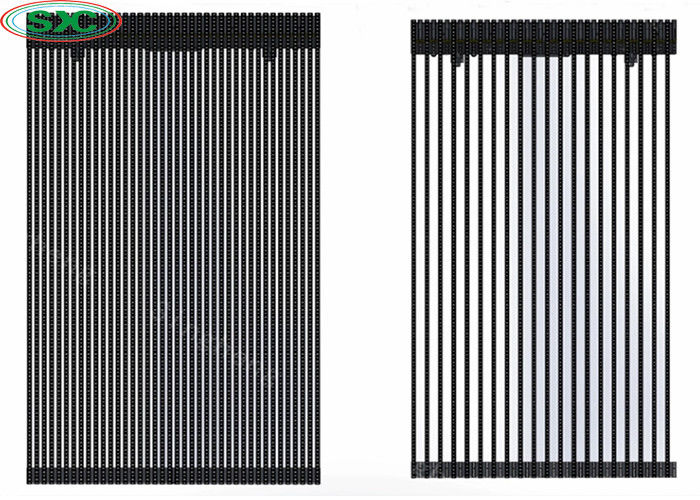P15.625-31.25 Curtain LED Display SMD Outdoor Full Color Grille Screen 1R1G1B