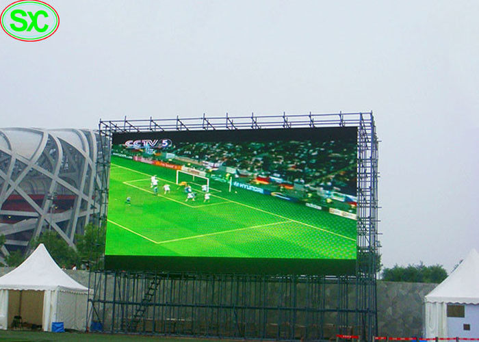 P6 Outdoor giant Baseball Stadium LED Display 5 Years Warranty , sports led display