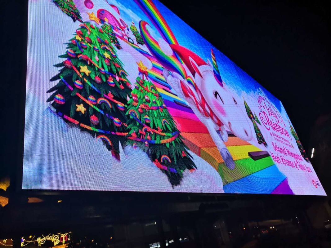 2500 Nits Outdoor Full Color LED Display P4 Advertising Stage Concert High Definition