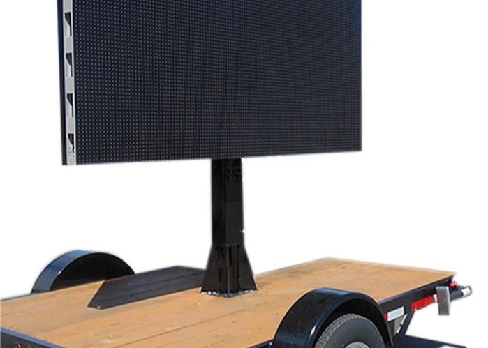 Flexible Car Led Message Board 10000 Dots / Sqm Pixel Density 3 Years Warranty